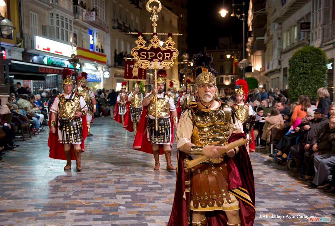 Agrupación de Soldados Romanos. Miércoles Santo