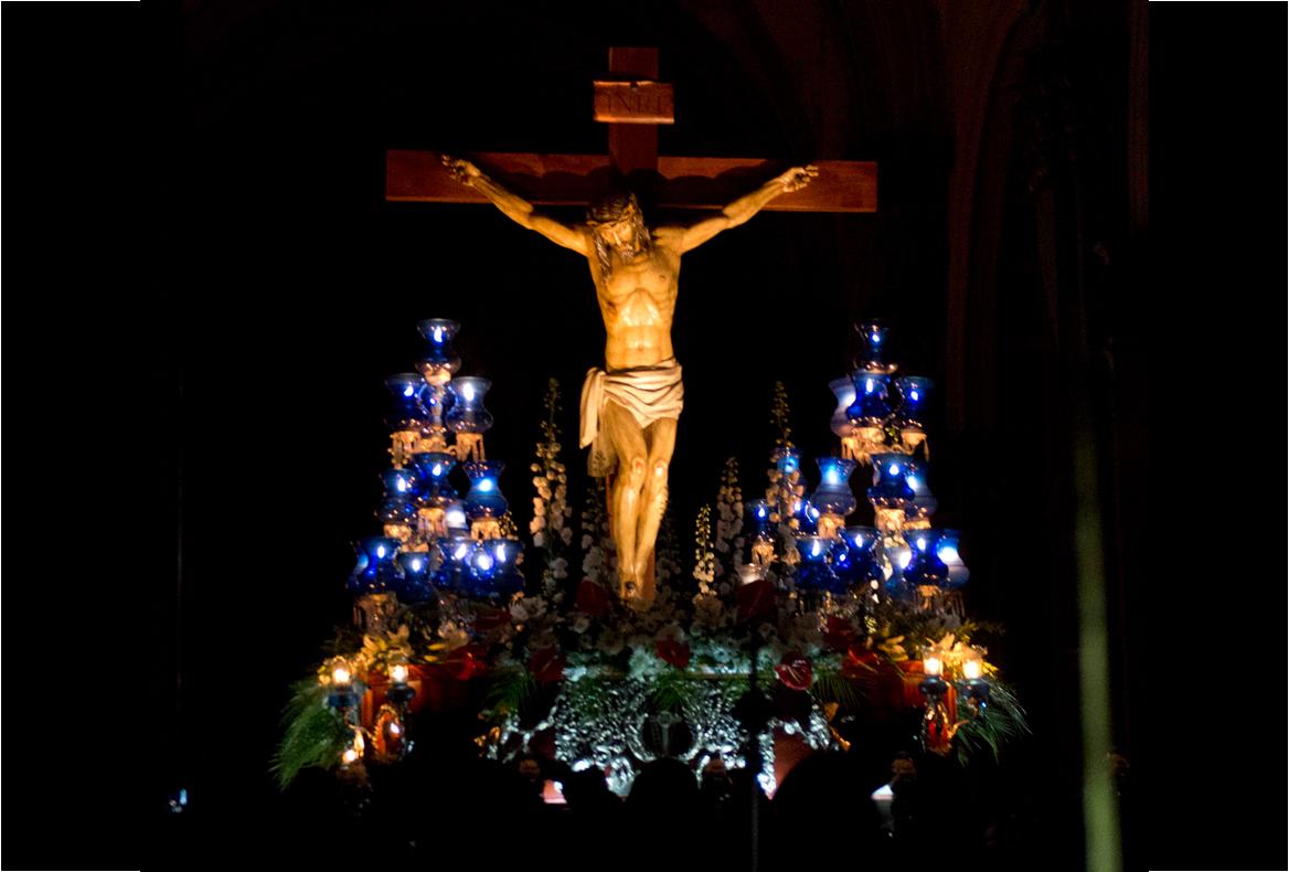 Cristo de los Mineros. Jueves Santo