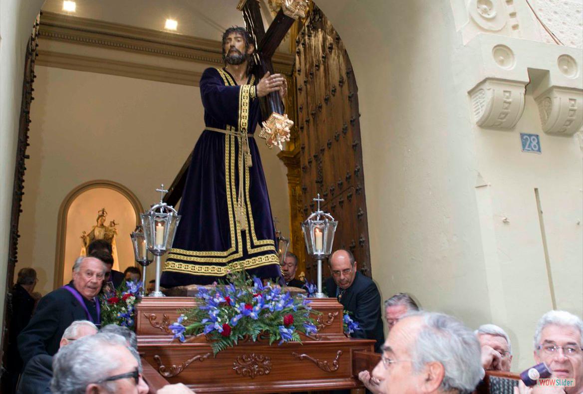 Traslado Jesús Nazareno. Sábado de Pasión