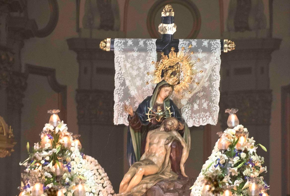 Santísima Virgen de la Piedad. Lunes Santo