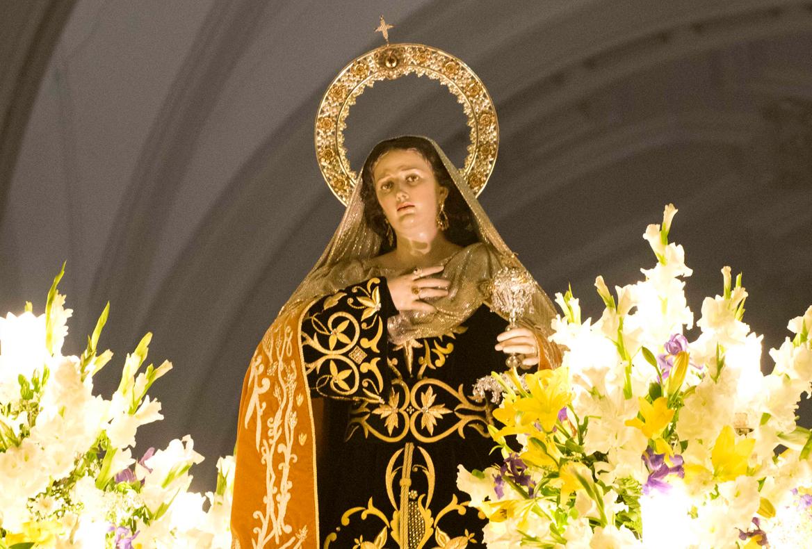 Santa María Magdalena. Viernes Santo Noche
