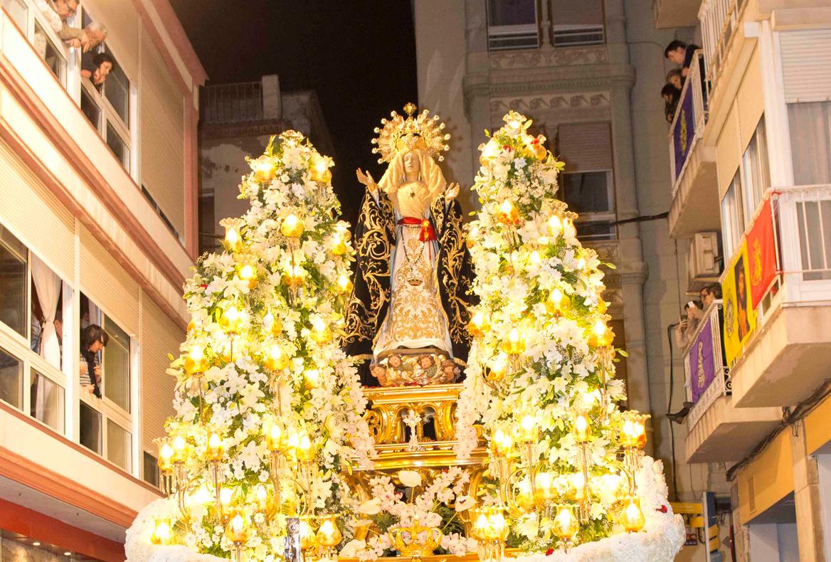 Santísima Virgen de la Soledad. Viernes Santo Noche