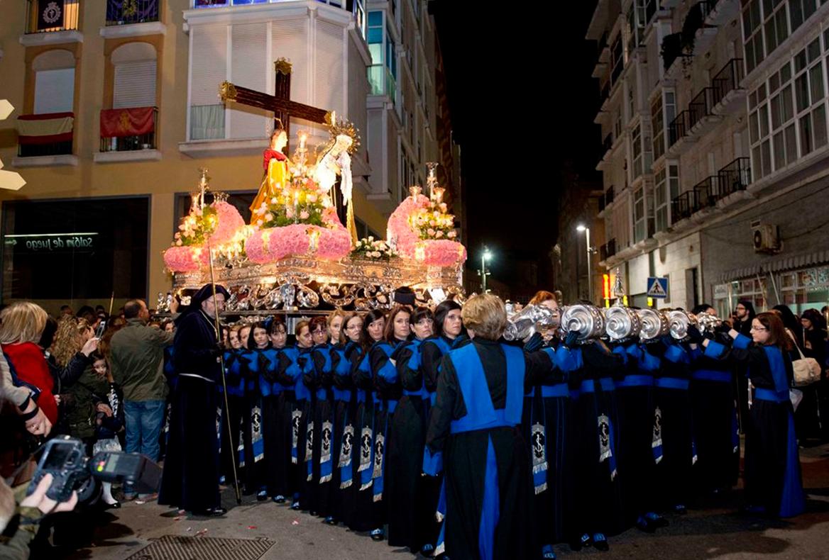 Trono de las Santas Mujeres. Sábado Santo