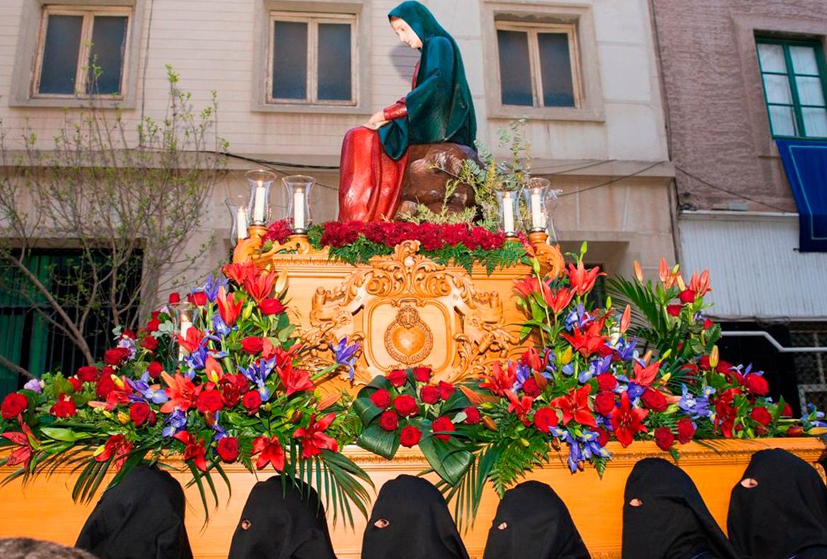 Trono de la Santísima Virgen del Consuelo