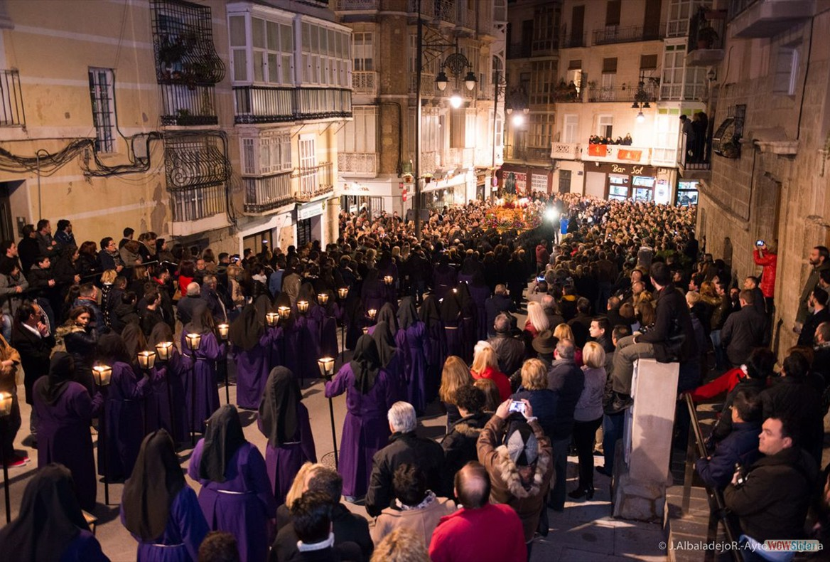 Resultado de imagen de procesión cristo del socorro cartagena