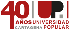 Logotipo 40 Aniversario de la UP